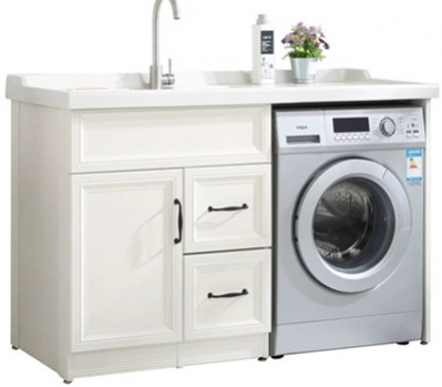 洗衣机柜设计
