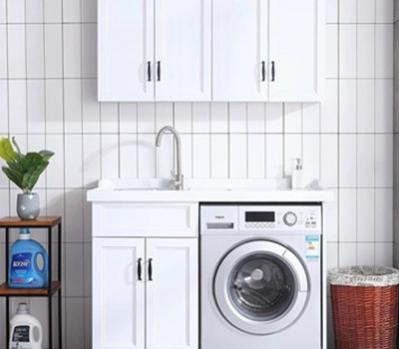 全屋洗衣机柜安装